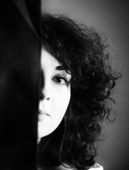 aude portrait by christine caron